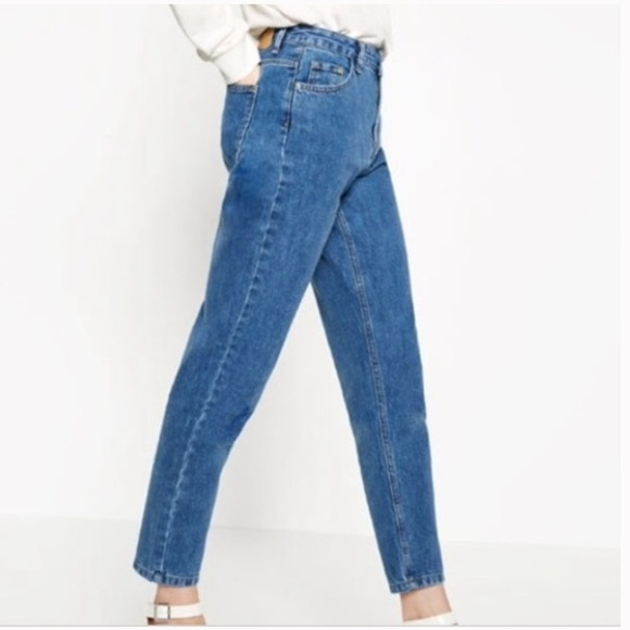 9f7ed174 Zara Jeans | Denim By Trf Trafaluc High Waist Mom | Poshmark